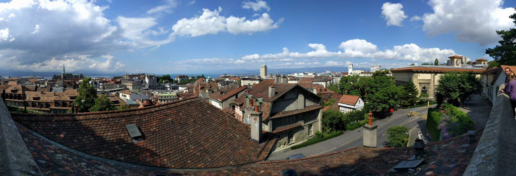 Panorama of Lausanne