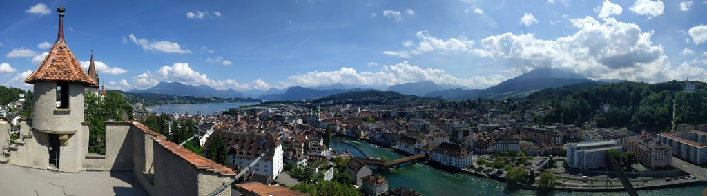 Panorama of Luzerne