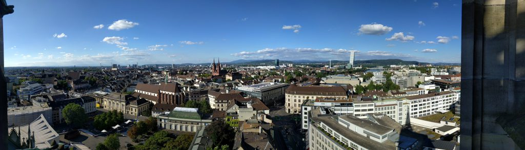 Panorama of Basel