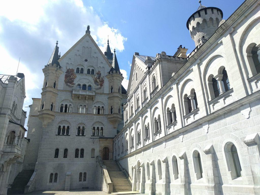 Neuschweinstein Castle Courtyard