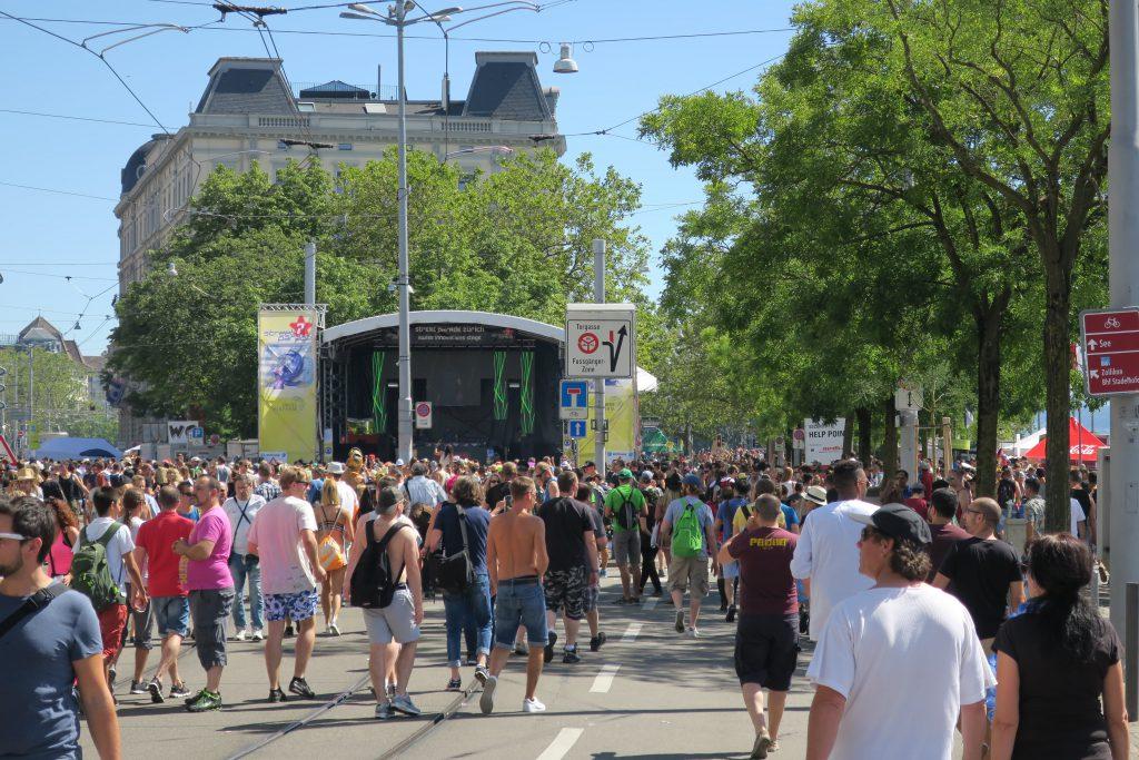 Zurich Street Parade 2016