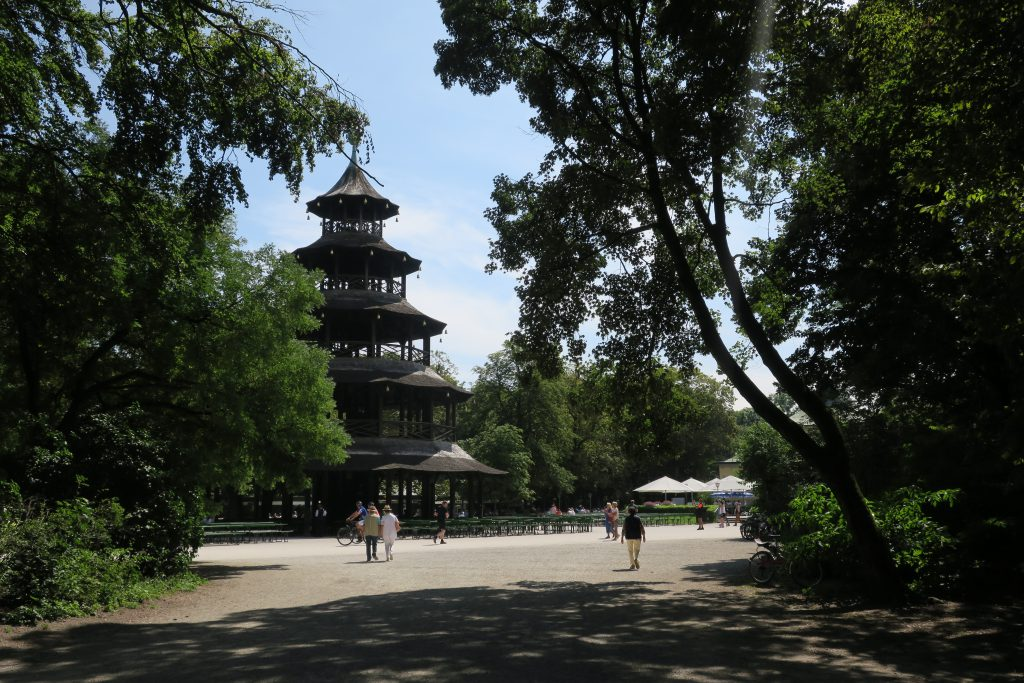 English Garten Pagoda