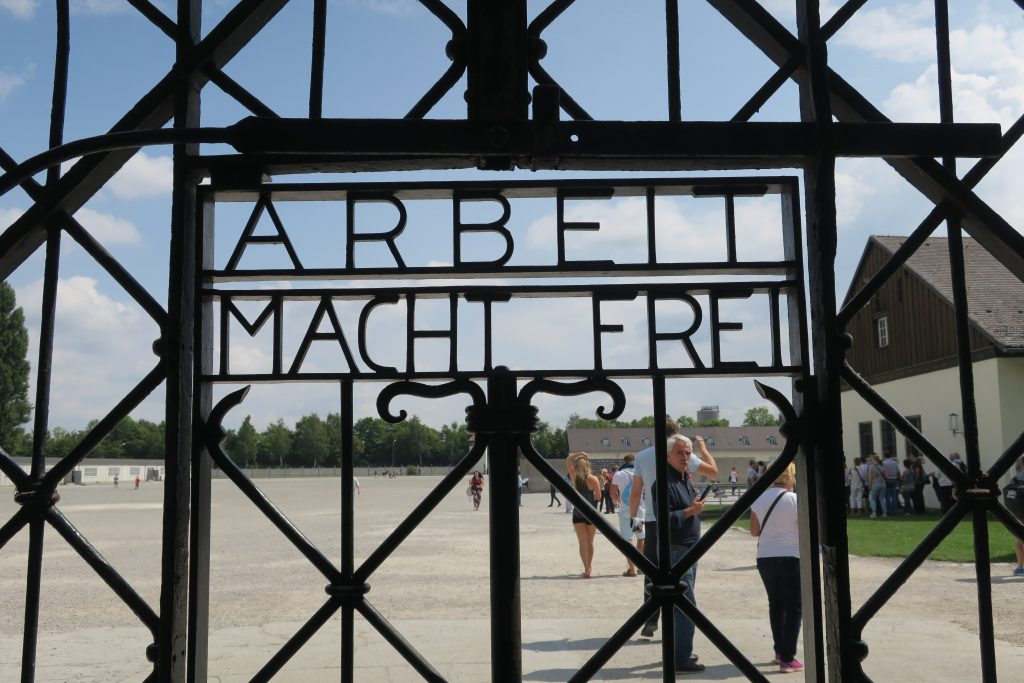 Dachau - Arbait Macht Frei