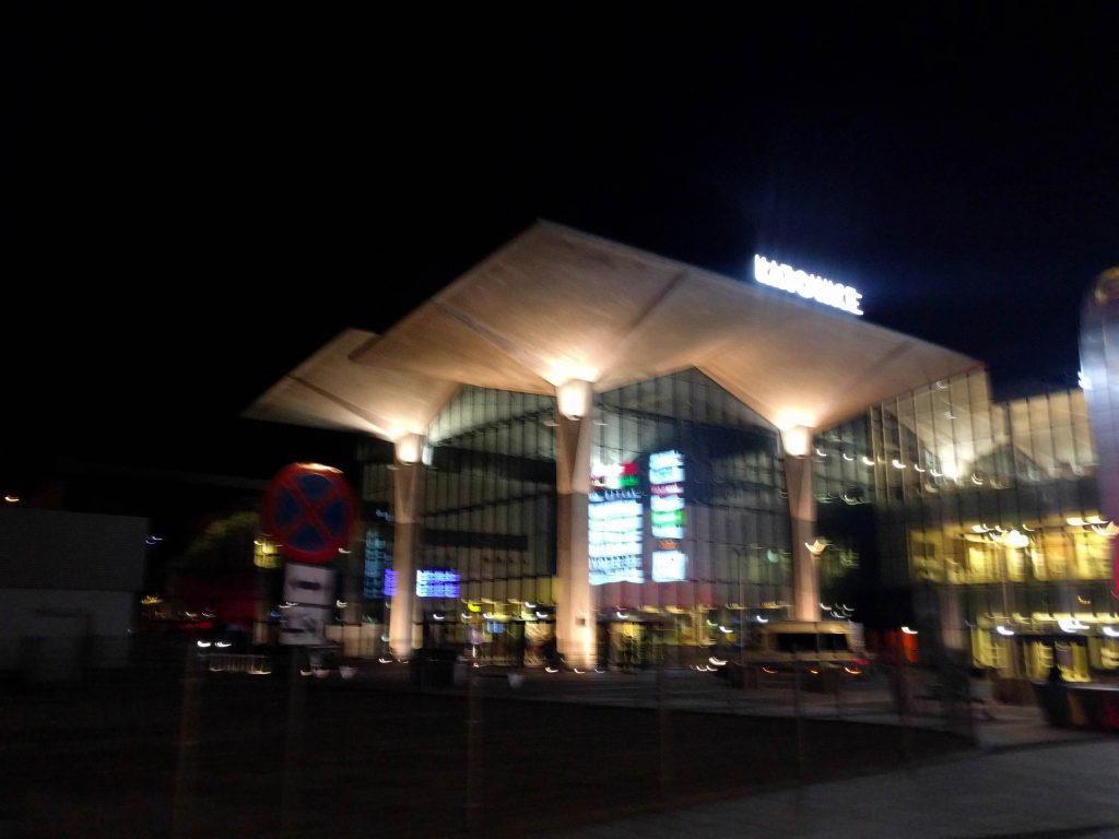 Train Station of Katowice